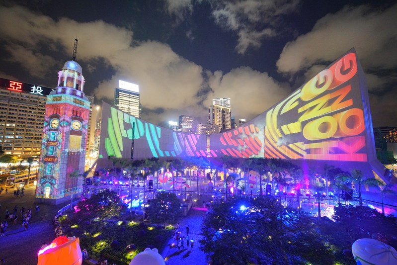 Award-winning Hong Kong Pulse Light Show returns for the summer with new lighting effects and a fantasy world of animated characters