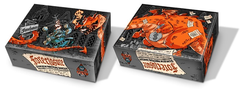 The first QST game to be mailed to consumers will be FORECLOSURE: Dungeon Masters Tavern, created by the trio of Cory Jones (concept), Matt Hyra (design), and Robb Mommaerts (art).