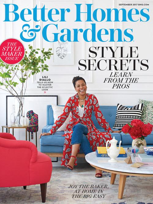 Better Homes & Gardens' seventh annual September Stylemaker issue