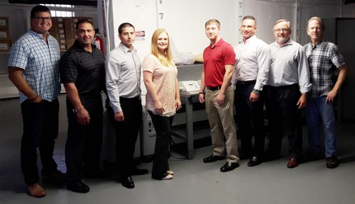 Advanced Oxygen Therapy Inc. New York Team at the New York City Office Grand Opening