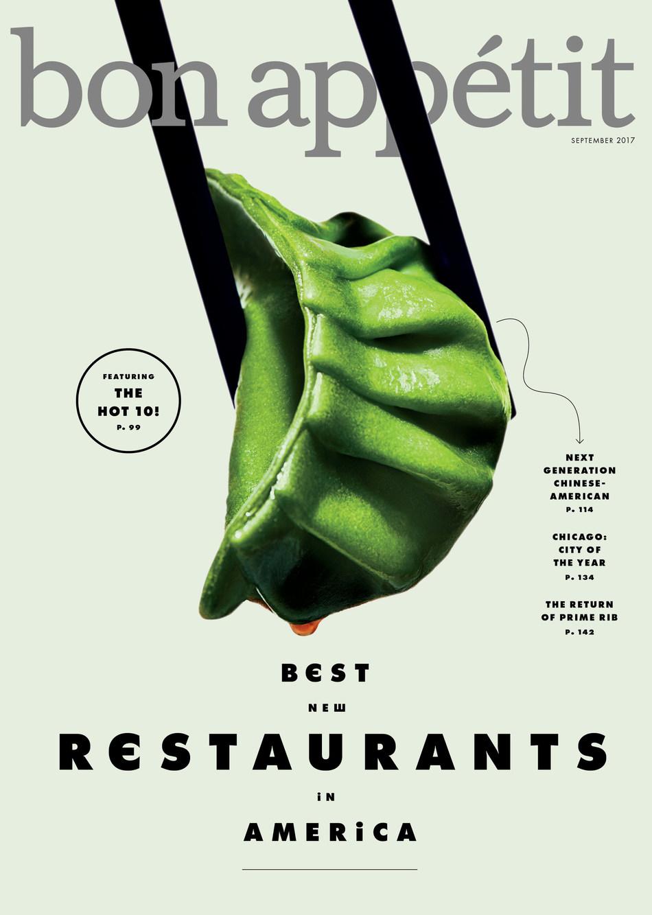 Bon Appétit's Restaurant Issue, September 2017