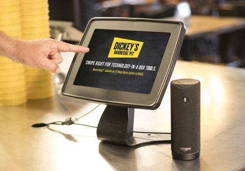 Dickey's Barbecue Pit incorporates iOLAP's Enterprise Voice Platform to quickly find business metrics. (PRNewsfoto/Dickey's Barbecue)