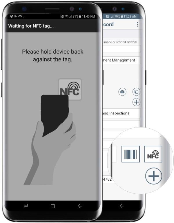 Flowfinity NFC Tags