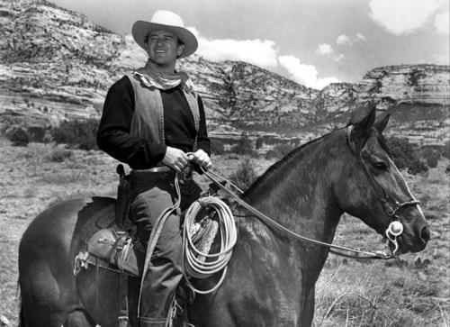 "John Wayne in ""Angel and the Badman"" (1947) Credit: PHOTOFEST"