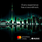 Every experience has a soundtrack. (CNW Group/MasterCard Canada)