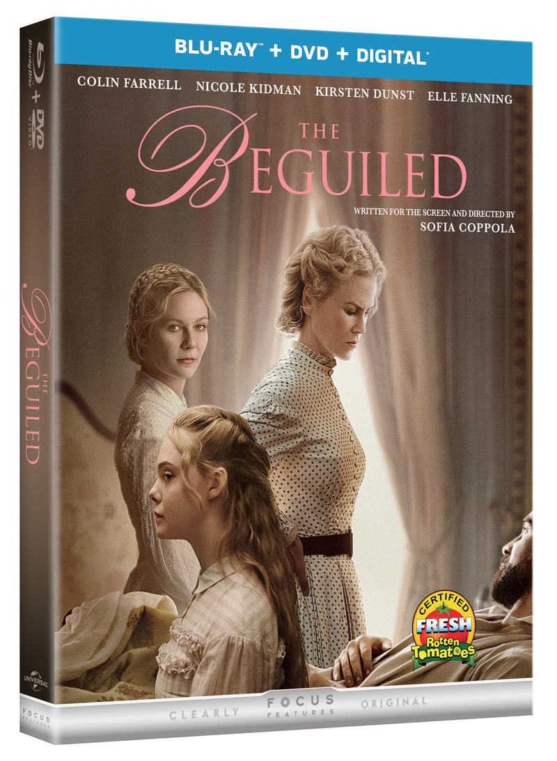 From Universal Pictures Home Entertainment: The Beguiled