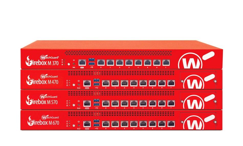 Firebox M Series Appliances: M370, M470, M570 and M670