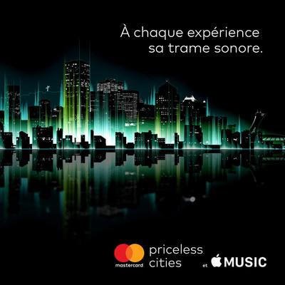 À chaque expérience sa trame sonore (Groupe CNW/MasterCard Canada)