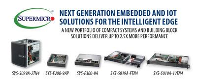 美超微的最新Atom C3000解决方案为智能边缘计算提供2.5倍性能