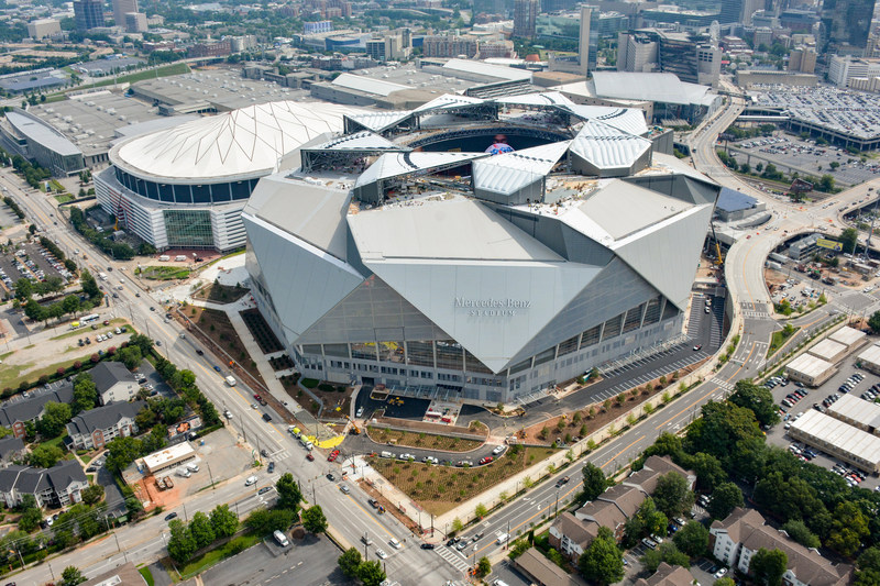 Ibm to deliver personalized fan experience through the ibm for Mercedes benz stadium opening