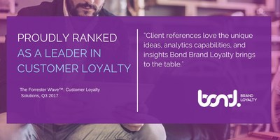 The Forrester Wave™ Customer Loyalty Solutions, Q3 2017 (CNW Group/Bond Brand Loyalty)