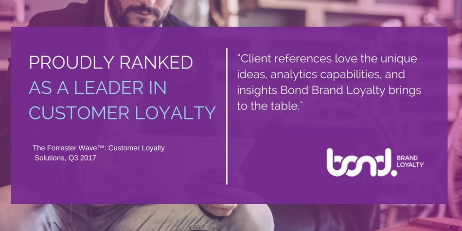 Bond Brand Loyalty Named a Leader in Customer Loyalty by