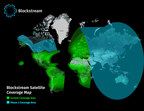 Phase 1 and Phase 2 coverage areas for Blockstream Satellite