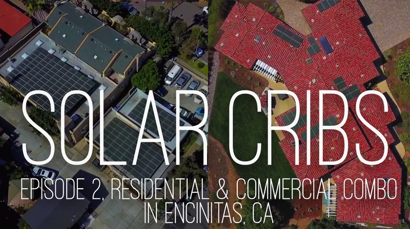 The Macaluso family in Encinitas, California went solar on both their home and business. Episode 2 of Solar Cribs tells their story.