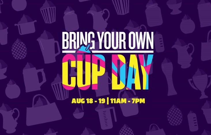 Dust off your sand buckets, punchbowls, beach cups or other unique containers. The highly anticipated Bring Your Own Cup (BYOC) Day is back at participating 7-Eleven stores Aug. 18 and 19, from 11 a.m. – 7 p.m. each day.