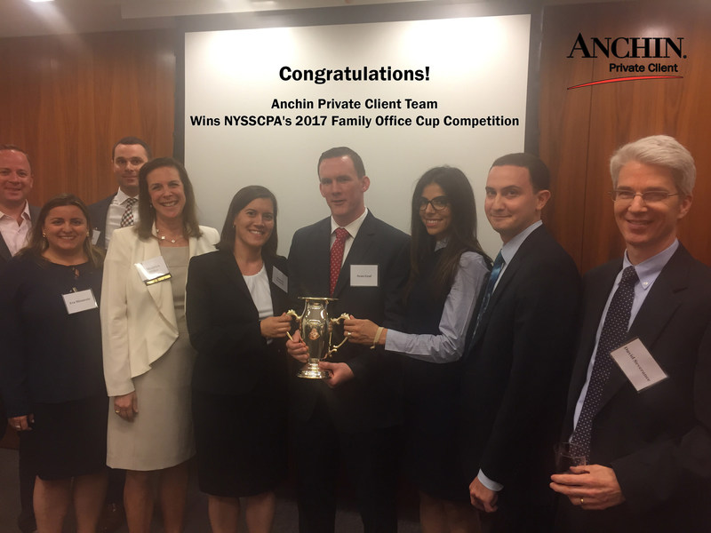 Anchin Private Client Wins the 2017 Family Office Cup