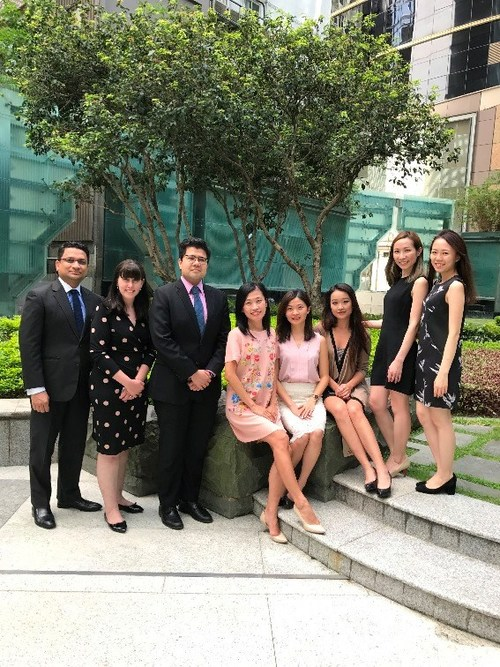 The DMS Asia-Pacific Team