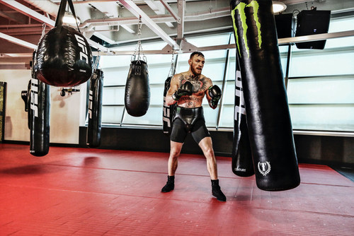"""Monster Energy announces a continued sponsorship deal with MMA mega Superstar Conor """"The Notorious"""" McGregor."""