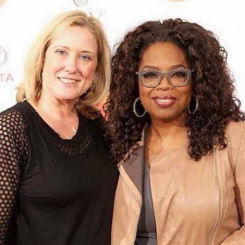 Connie Rankin and Oprah Winfrey
