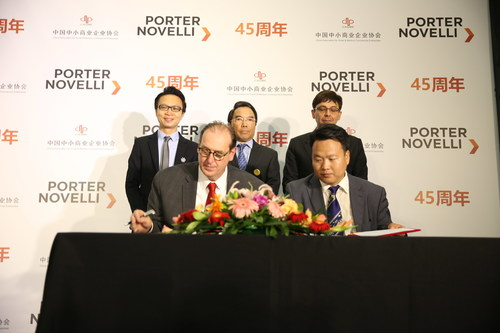 Porter Novelli, an Omnicom company, partners with the China Association of Small and Medium Enterprises (CASME) to launch China Desk, aiming integrated go-to market services for China to go global and international companies to enter the Chinese market.