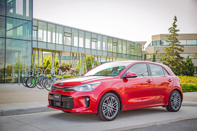The all-new 2018 Kia Rio 5-Door (CNW Group/KIA Canada Inc.)