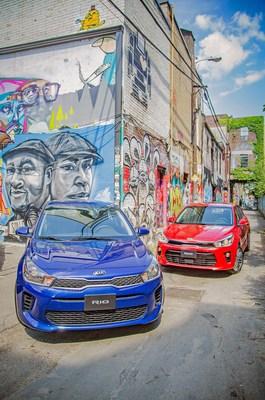 Kia Rio 5 portes 2018 (Groupe CNW/KIA Canada Inc.)