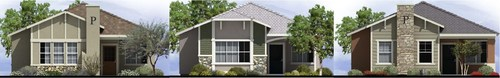 El Caro Homes will offer 3-styles of detached, single-family homes