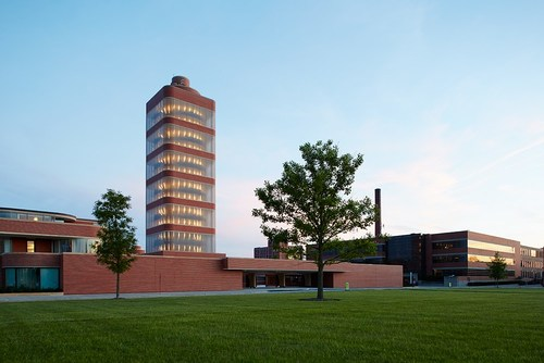 SC Johnson Administration Building and Research Tower. photo courtesy SC Johnson