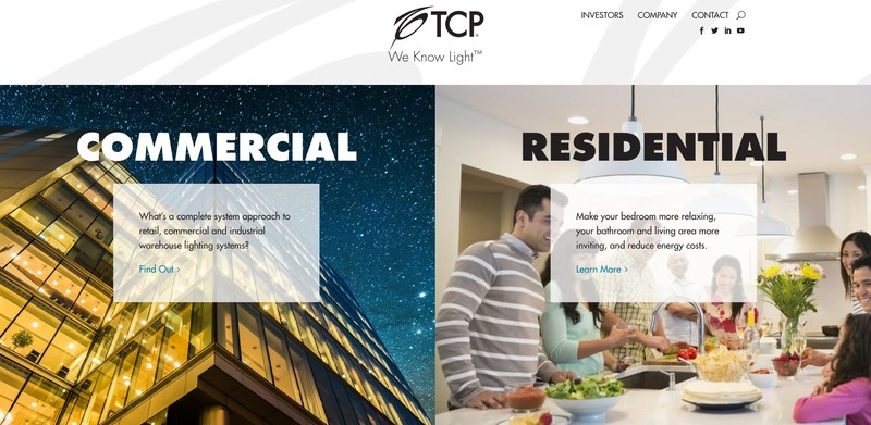 TCP Launches New Website Featuring Industry-First Technology