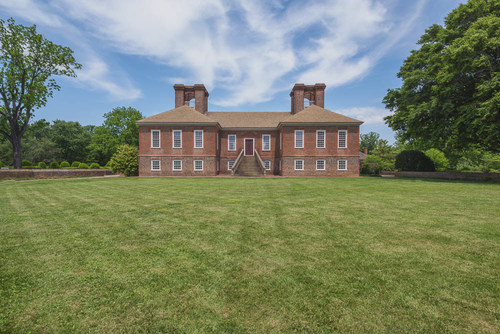 Stratford Hall,birthplace of Robert E. Lee, Westmoreland County, Virginia.