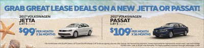 Incentives offered during the Volkswagen Model Year End Sales Event at Elgin Volkswagen.