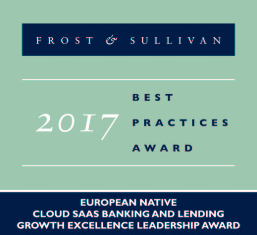 Frost & Sullivan Recognizes Mambu with the 2017 Europe Growth Excellence Leadership Award