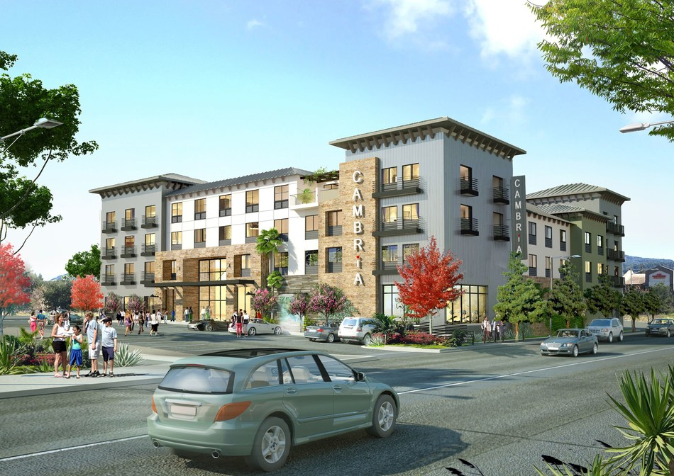 Cambria Suites Napa Valley Rendering