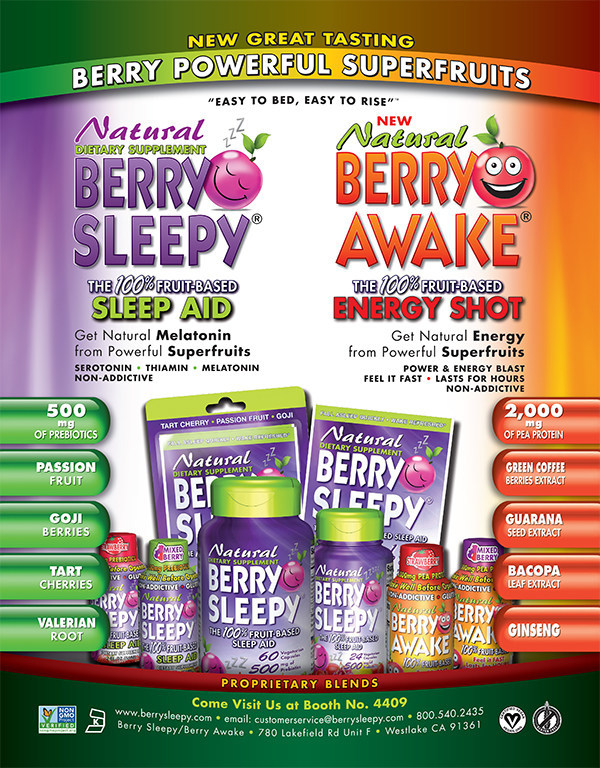 New, Berry Powerful Superfruits