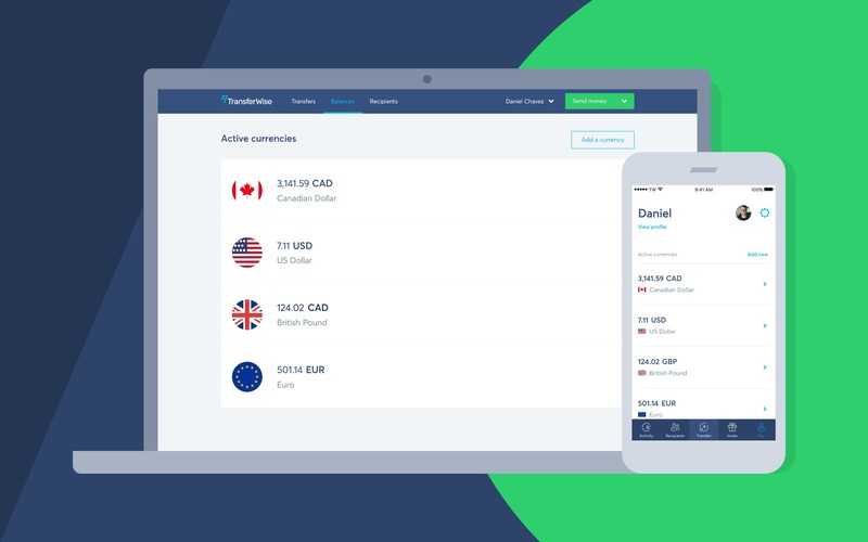 TransferWise launches the Borderless account in Canada; a new way for Canadian businesses and freelancers to manage their money internationally. (CNW Group/TransferWise)