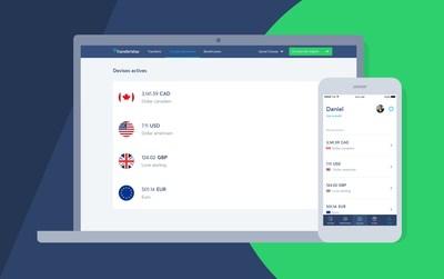 TransferWise lance son compte Borderless au Canada; une nouvelle façon pour les entreprises et les travailleurs autonomes canadiens de gérer leur argent à l'international (Groupe CNW/TransferWise)