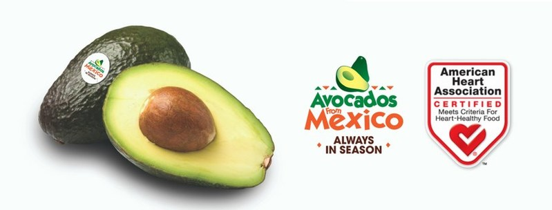Avocados From Mexico Certified by the American Heart Association's® Heart-Check Certification Program
