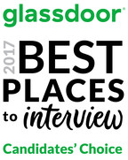 Glassdoor Announces Candidates' Choice Awards For Best Places To Interview In 2017