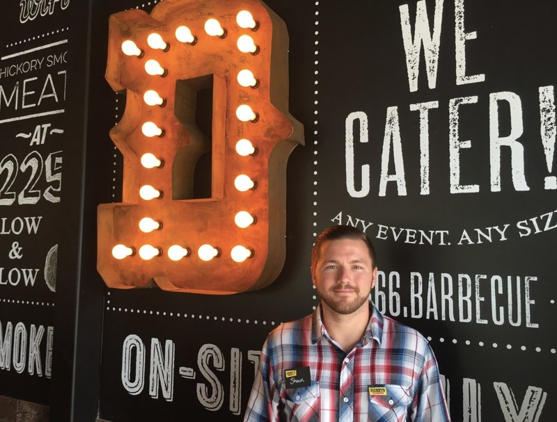New Owner/Operator Shaun Martin opens his first Dickey's Barbecue Pit location