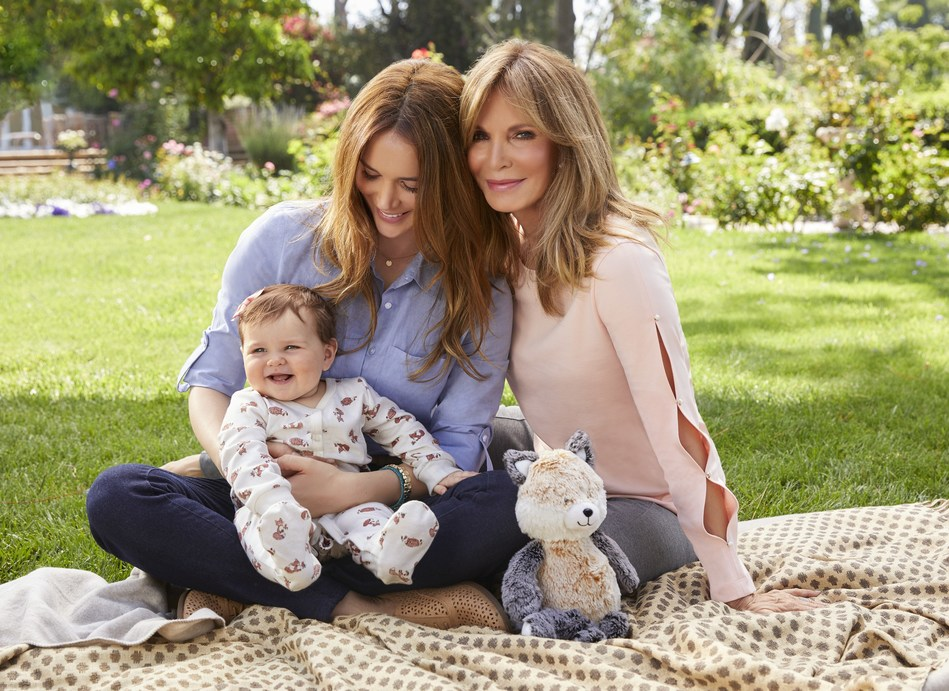 Kmart & Celebrity Mother-Daughter Duo Launch 'Spencer by Jaclyn Smith'  Layette Collection