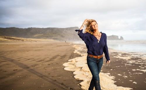 Rachel Hunter in Auckland