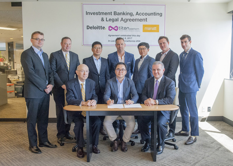 TiTANplatform Engages Deloitte for Investment Banking and Accounting Services Towards $100 Million Capital Raise