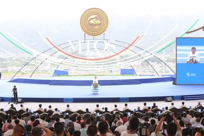 La Conferencia Internacional de Turismo de Montaña y Deportes al Aire Libre de 2017 comienza en Qianxinan, provincia de Guizhou, China