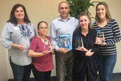 NuevaCare's management team celebrates inclusion in the 2017 Inc. 5000 list of America's Fastest-Growing Private Companies.