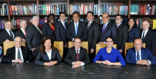 The Attorneys Team at New York Personal Injury Law Firm Gair, Gair, Conason, Rubinowitz, Bloom, Hershenhorn, Steigman & Mackauf