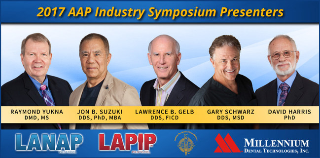 Five world renowned clinicians and researchers report on the power and versatility of FDA cleared True Regeneration at the 16th Annual AAP Industry Symposium, Saturday September 9, 2017 in Boston, MA. Presenters include Raymond Yukna, DMD, MS; Jon B. Suzuki, DDS, PhD, MBA; Lawrence B. Gelb, DDS, FICD; David Harris, PhD; and Gary Schwarz, DDS, MSD.