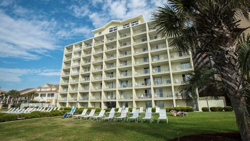 Oceanfront destination Beach House Golf & Racquet Club located in Myrtle Beach, South Carolina.
