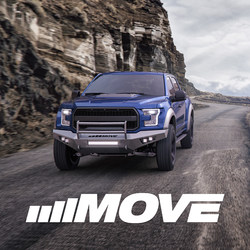 Expertly crafted to give trucks more strength, style, and durability, MOVE Bumpers are the first DIY truck bumper kits in the aftermarket truck space.