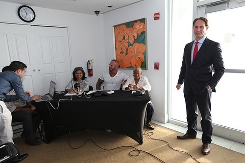 August 7, 2017 - Miami Beach, Florida - Board of Directors Meeting of Mirador 1000 Condominium Association - Dozens of Owners Voted Online and the Meeting was Live Streamed to Members Via the Portal.