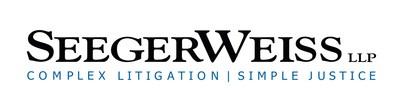 Seeger Weiss, LLP www.seegerweiss.com (PRNewsfoto/Seeger Weiss LLP)